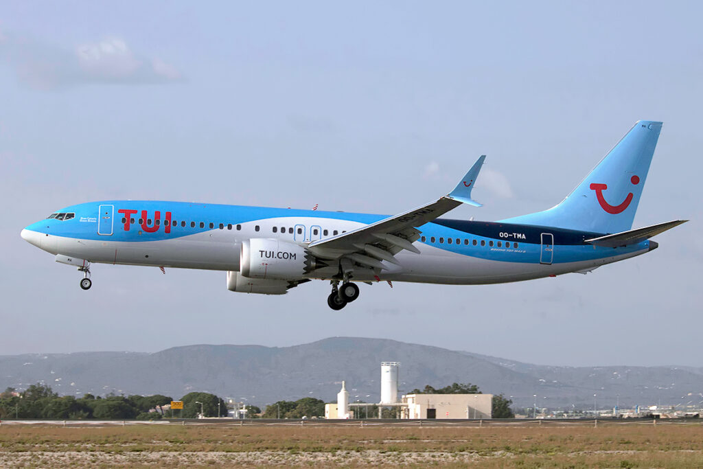 air travel with your bike, on TUI, formerly Thomson's airways
