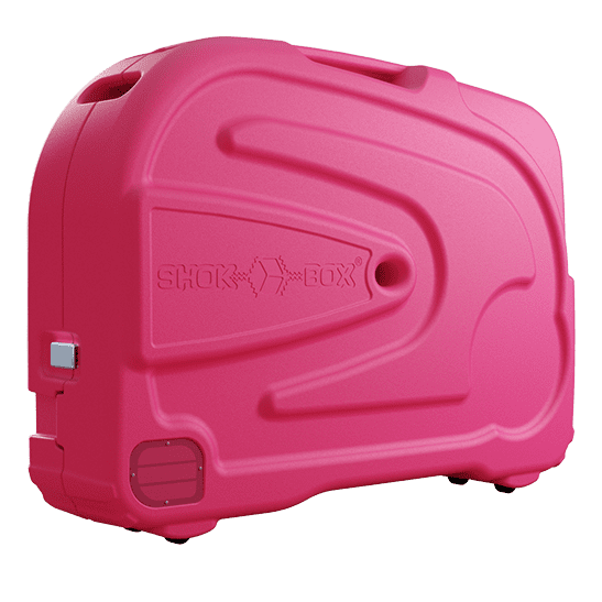 Protective bike box for air travel